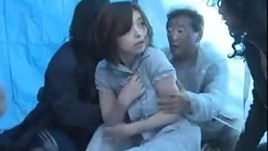 Japanese Girl Fucks Homeless Guy
